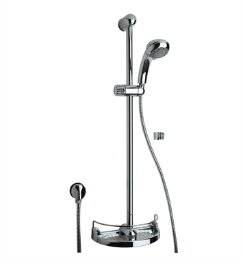 LaToscana 50CR124 Water Harmony Slide Bar Kit with Handshower in Chrome