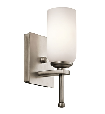 Kichler 42950AP Ladero Collection Wall Sconce 1 Light in Antique Pewter