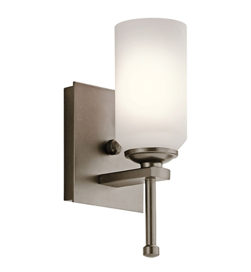 Kichler 42950SWZ Ladero Collection Wall Sconce 1 Light in Shadow Bronze