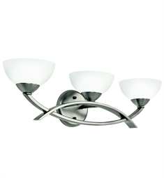 Kichler Bellamy Collection Bath 3 Light in Antique Pewter