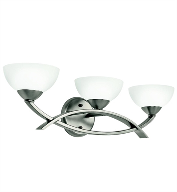 Kichler 45163AP Bellamy Collection Bath 3 Light in Antique Pewter