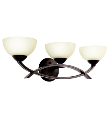 Kichler 45163OZ Bellamy Collection Bath 3 Light in Olde Bronze