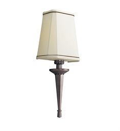 Kichler Paramount Collection Wall Sconce 1 Light Fluorescent in Royal Bronze