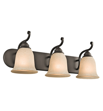 Kichler Camerena Collection Bath 3 Light in Olde Bronze