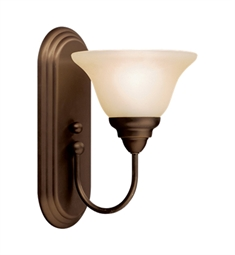 Kichler Telford Collection Wall Sconce 1 Light Fluorescent in Olde Bronze