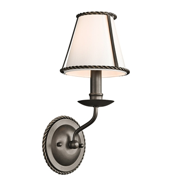 Kichler 43343OZ Donington Collection Wall Sconce 1 Light in Olde Bronze