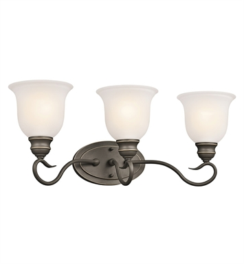 Kichler 45903OZ Tanglewood Collection Bath 3 Light in Olde Bronze