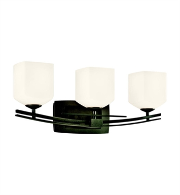 Kichler 45263AVI Brinbourne Collection Bath 3 Light in Anvil Iron