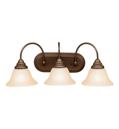 Kichler Telford Collection Bath 3 Light Fluorescent in Olde Bronze