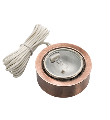 Kichler 12501CO TaskWork Xenon Disc 12 V in Copper
