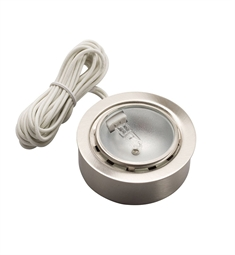 Kichler TaskWork Xenon Disc 12 V in Brushed Nickel