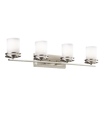 Kichler 5079NI Hendrik Collection Bath 4 Light in Brushed Nickel