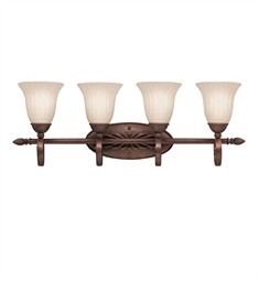 Kichler Willowmore Collection Bath 4 Light in Tannery Bronze