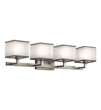 Kichler 45440NI Kailey Collection Bath 4 Light in Brushed Nickel