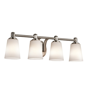 Kichler 45456CLP Bath 4 Light in Classic Pewter