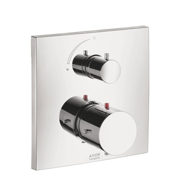 Hansgrohe 10706001 Axor Starck X Thermostatic Trim with Volume Control