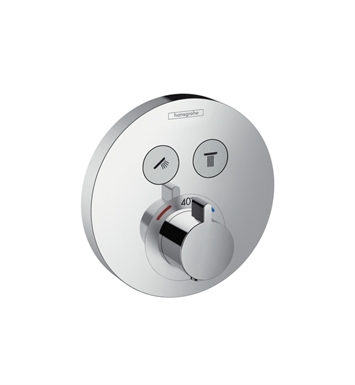 Hansgrohe 15743 ShowerSelect E Thermostatic 2 Function Trim