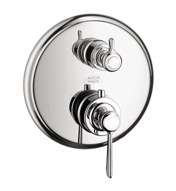 Hansgrohe 16821821 Axor Montreux Thermostatic Trim with Volume Control and Diverter With Finish: Brushed Nickel
