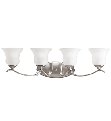 Kichler 5287NI Wedgeport Collection Bath 4 Light in Brushed Nickel