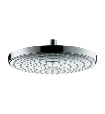 "Hansgrohe 26469401 Raindance Select S 240 9 5/8"" Wall Mount Round 2-Jet Showerhead With Finish: White/Chrome"
