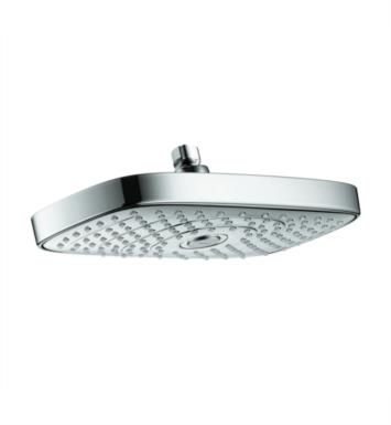 "Hansgrohe 27387821 Raindance Select E 300 6 1/4"" Wall Mount Rectangular 2-Jet Showerhead With Finish: Brushed Nickel"