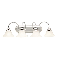 Kichler Telford Collection Bath 4 Light in Chrome