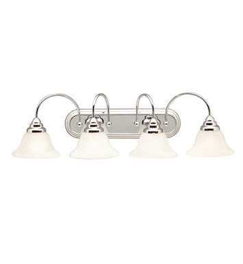 Kichler 5994CH Telford Collection Bath 4 Light in Chrome
