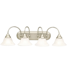 Kichler Telford Collection Bath 4 Light in Brushed Nickel