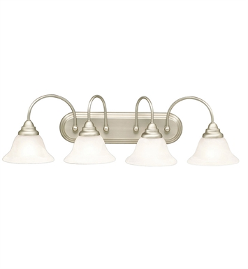 Kichler 5994NI Telford Collection Bath 4 Light in Brushed Nickel