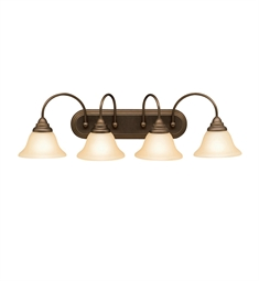 Kichler Telford Collection Bath 4 Light in Olde Bronze