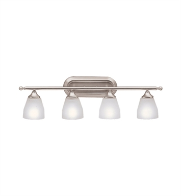 Kichler 5449NI Ansonia Collection Bath 4 Light in Brushed Nickel