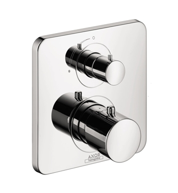 Hansgrohe 34705821 Axor Citterio M Thermostatic Trim with Volume Control With Finish: Brushed Nickel