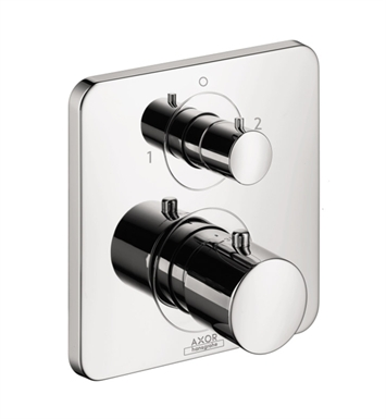 Hansgrohe 34725821 Axor Citterio M Thermostatic Trim with Volume Control and Diverter With Finish: Brushed Nickel
