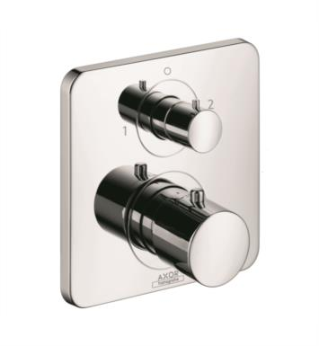 "Hansgrohe 34725001 Axor Citterio M 6 3/4"" Thermostatic Trim with Volume Control and Diverter With Finish: Chrome"
