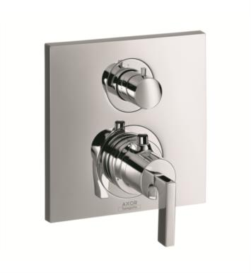 "Hansgrohe 39700001 Axor Citterio 6 3/4"" Thermostatic Trim with Volume Control With Finish: Chrome"