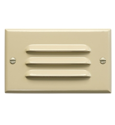 Kichler LED Step Light Horiz. Louver in Ivory