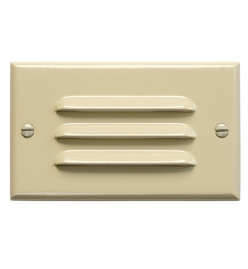Kichler 12600IV LED Step Light Horiz. Louver in Ivory
