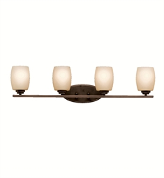 Kichler Eileen Collection Bath 4 Light in Olde Bronze