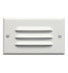 Kichler LED Step Light Horiz. Louver in White