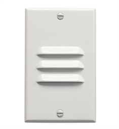 Kichler LED Step Light Vertical Louver in White