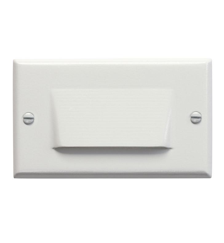 Kichler 12652WH LED Step Light Shielded In White