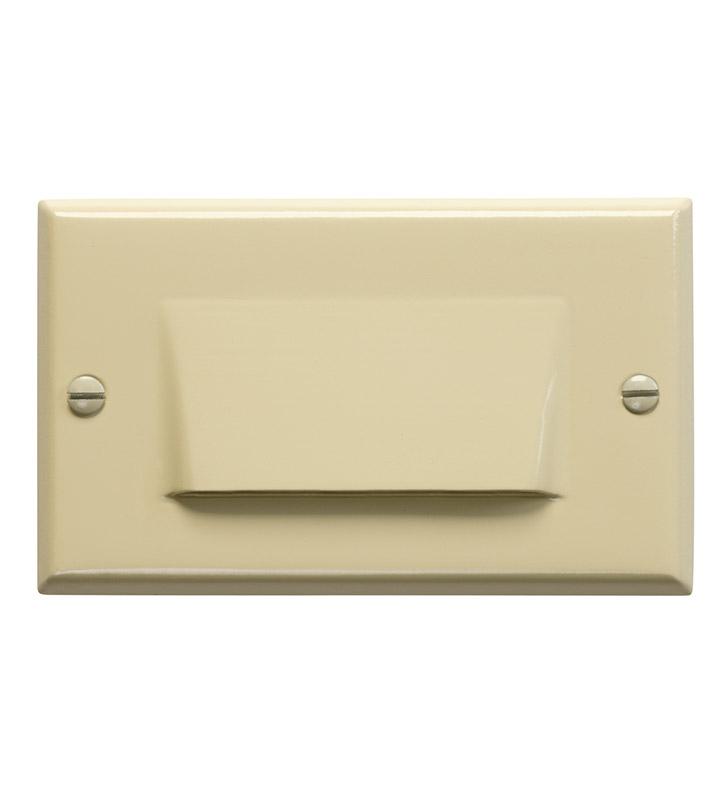 Kichler 12602IV LED Step Light Shielded In Ivory