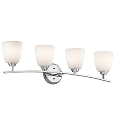 Kichler Granby Collection Bath 4 Light in Chrome