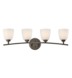 Kichler Granby Collection Bath 4 Light in Olde Bronze