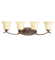 Kichler Wedgeport Collection Bath 4 Light Fluorescent in Olde Bronze