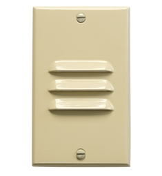 Kichler LED Step Light Vertical Louver in Ivory