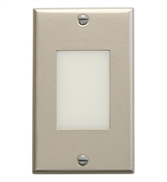 Kichler LED Step Light Lens in Brushed Nickel