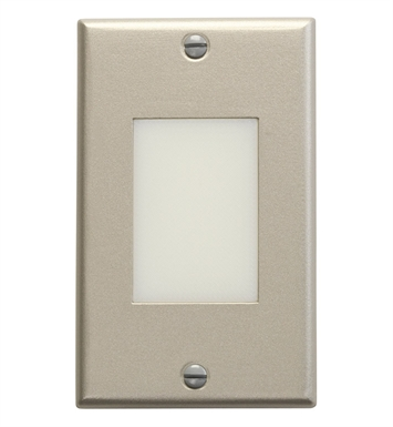 Kichler 12604NI LED Step Light Lens in Brushed Nickel
