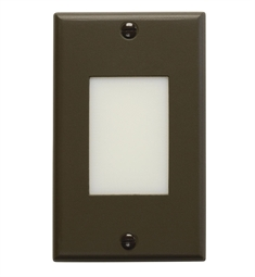 Kichler LED Step Light Lens in Architectural Bronze