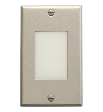 Kichler 12654NI LED Step Light Lens in Brushed Nickel